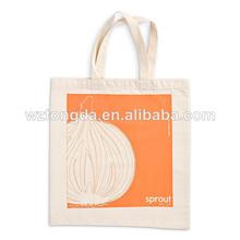 Natural de la compra reciclado bolsa de algodón cb-002