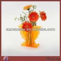 Wholesale Animal Shaped Colored Acrylic Vase