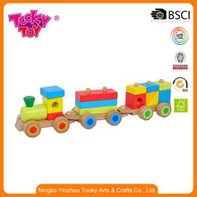 Babies Toys Stacking Wood Christmas Advent Calendar Train