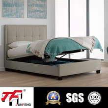 J519 Fabric Ottoman modern stylish home storge bed Frame