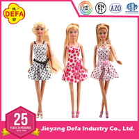 2015 DEFA NEW wholesale DOLL,online doll dress-up girl games,american fashion girl baby doll with doll dress approved by EN71