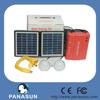 portable Solar Led Light Kits used at home with 4pcs led bulb and solar panel