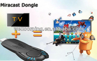 Hot sale miracast dongle v5iit wifi display dongle miracast DLNA Android pk google chromecast dongle