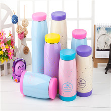 2015 Hot Sale Double Wall Stainless Steel Water Bottle/ Vacuum Flask China