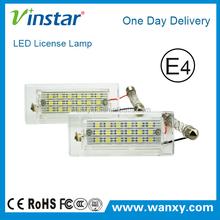 Vinstar high power energy saving 18-led license plate light for x3 x5