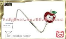 Realistic zinc alloy Apple Seiko movement bag hanger watch