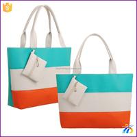 2016 Wholesale beach tote PU Large Beach bags/Tote bags/Shopping bags