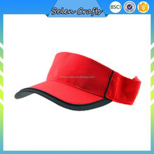 Poliéster correr parasol Sun visera tenis deporte pesca Golf gorra y sombrero