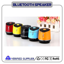 2015 Compact Design Rechargeable Bluetooth wireless speaker with quality music
