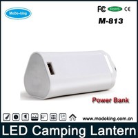 Cell Phone Charger LED Flashlight and Lantern Outdoor Emergency Camping Gear 7800mAh