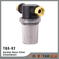Filter Attachment for Garden Hoses and Pressure Washers