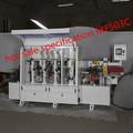 Venda quente novo estilo mf503c semi- automática coladeira de borda com multa/rough corte para cozinha
