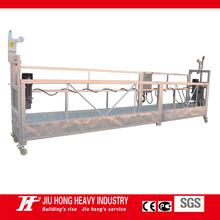 Fabricante de China ZLP aleación de aluminio suspendido swing sistema motor Plataforma / Stage / ascensor / góndola temporal