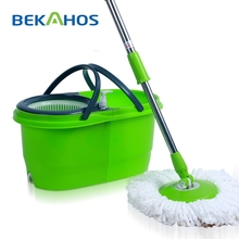 Super Raw Material 360 Spin Mop with Removable Mop Bucket New Product from Bekahos