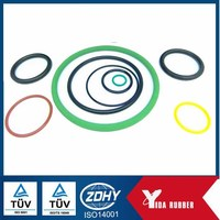 Customized Silicone Ring/Color 10*1.5 Rubber O Ring/Silicone Rubber Ring