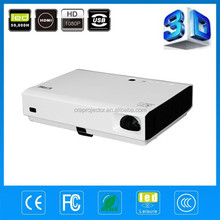 3000 lumens LED Projector HDMI 1280*800 resolution DLP HOME Theater HDMI / TV / AV / VGA / SD CARD CREX3000