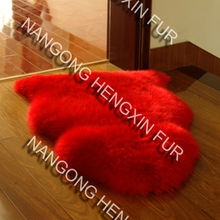 lambskin sofa rug the new design/floor rug Factory price australian sheepskin rug