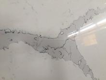 Piedra de cuarzo losas calacatta mármol
