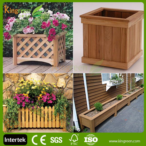 Eco-friendly High Quality Flower Box Wood Planter Boxes ...