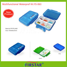 CE approved Usefull custom pill storage case