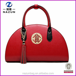 Designer Personality Fashion Hnadbag Women Tote Bag WIth RED Black Color