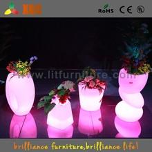 under vase light base,garden furniture import,wedding stage flower decoration