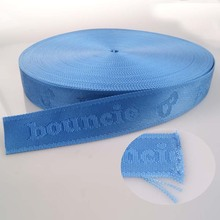 new products colored stripe webbing nylon 10mm