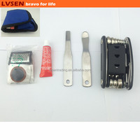 set multifunction multi bike tool with nylon pouch