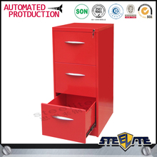Red Elegant High Gloss modern red filing/file cabinets