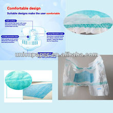 Well-fitted Comfortable Nonirritating Baby Diaper with Strict Sterilization