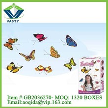 Wonderful DIY butterfly customized princess wall decoration for party