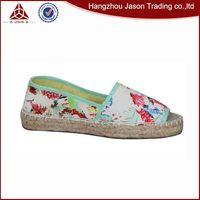 Fashion shoe new rainbow canvas espadrille casual shoes