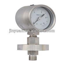 Pressure gauge diaphragm seal