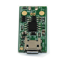 1S 0.2A PCB/PCM board for lithium ion/li-po battery with LED light, micro USB, charging management