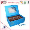 luxury custom mini paper cupcake box