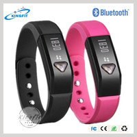 China bulk wholesale bluetooth intelligent make rubber band fitness bracelet watch BTW95