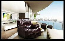 Living room chairs rocking recliner chairs leather chair motion armchiar