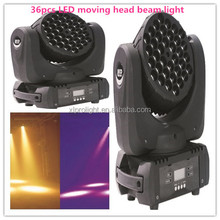 led twinkling stars led curtain lights led stage light message center 36*3w moving head beam light