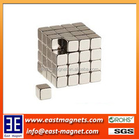 N35 strong small block sector sintered Ndfeb Mganet for sale/cube neodymium magnet ningbo facrory