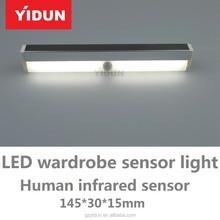 new hot sale hand motion sensor LED cabinet light/wardrobe light,surface mounted LED lights, LED sensor light furniture