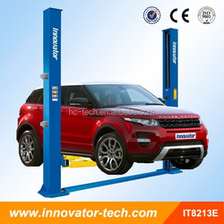Electrical lock release 2 post car lift outdoor