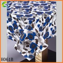 rectangular vinyl table cover for restuarant, wedding, party