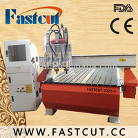 China Jinan wood engraving machine with furniture screw for beds FASTCUT-1325
