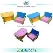 ECO friendly Horizon EVA foam kids floding study table and chair set