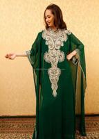 arabic New Arrival letest designer jalabiya jilbab hijab fashion Kaftan Long Sleeve Lace Top Abaya Turkey arab women k6912