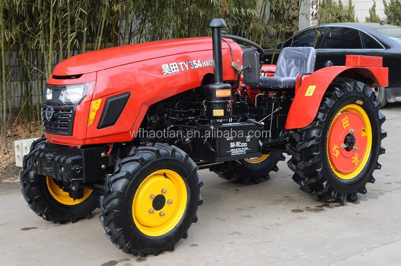 4x4 40hp Cheap Compact Garden Small Tractor Buy Mini