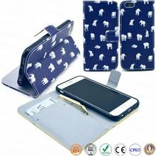 5.5 inch wholesale wallet style animel sex girl mobile for padfone leather phone case for custom for iPhone 6 plus