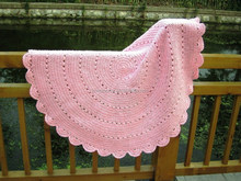 Wholesale Baby Cotton Crochet Blanket, Knitted Acrylic Blanket, Crochet floor rug