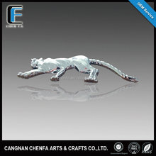 Wholesale 3D ABS plastic chrome plated adhesive car fashion badge brands logo names stickers for Jaguar