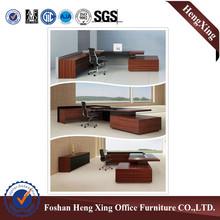 Morden office furniture,executive desk,office desk design with malamine HX-ND5003